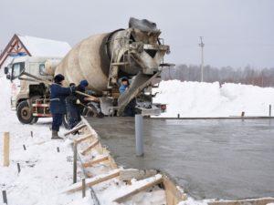 Бетонные работы зимой