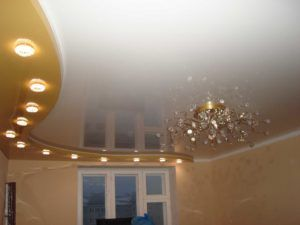 натяжные потолки двухуровневые в гомеле