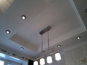 потолок из гипсокартона в Гомеле