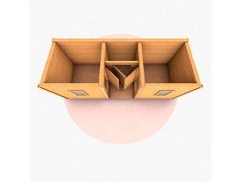 купить деревянную бытовку