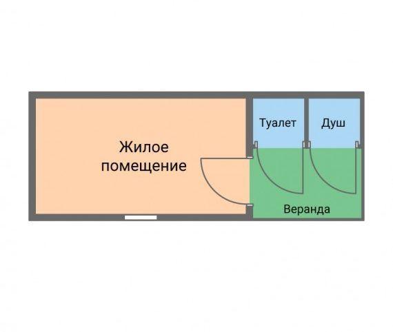 Бытовка БД-7