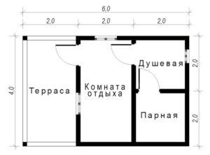 Баня Б-1