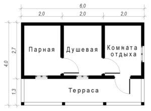 Баня Б-2